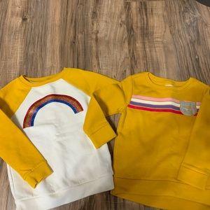 Toddler Girl's Old Navy Sweatshirts